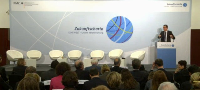 Zukunftscharta: Auftaktrede Minister Müller