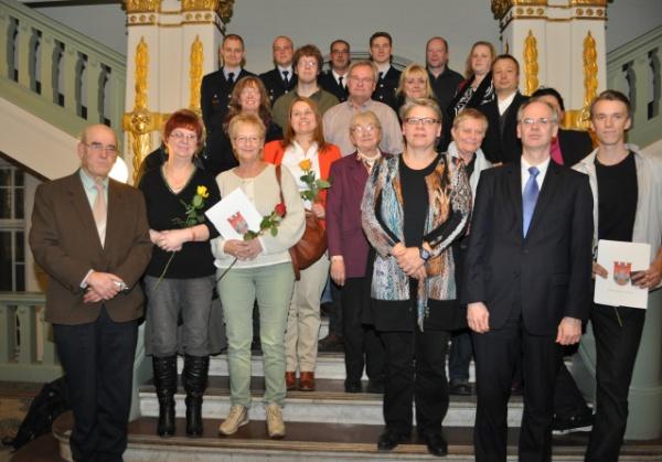 Preisverleihung des Ehrenamtspreis 2014
