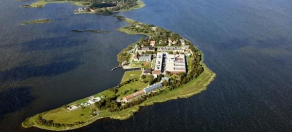 Friedrich-Loeffler-Institut auf der Insel Riems