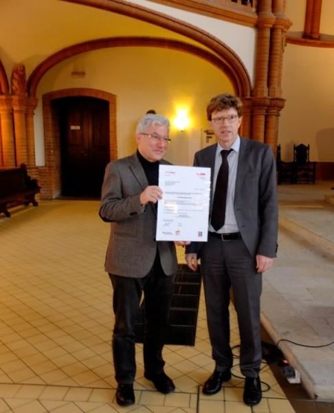 SenStadtUm fördert Gethsemanekirche