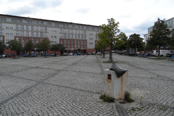 Hugenottenplatz in Französisch Buchholz