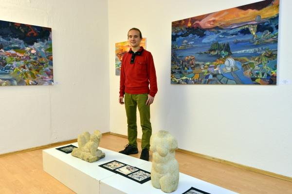 Pavel Feyerabend in der Galerie A