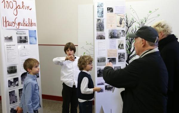 Ausstellung zum Geschichtsprojekt Wilhelm-von-Humboldt-Schule