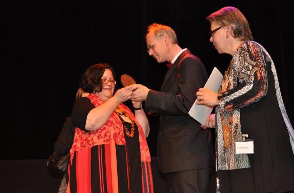 Verleihung der Bezirksmedaille - © Pressefoto Bezirksamt Pankow