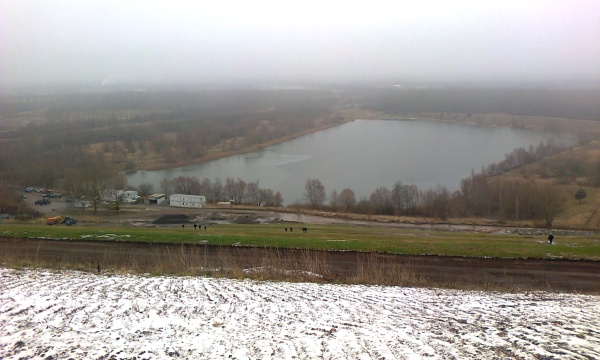 Arkenberger Baggersee am 25.1.2015