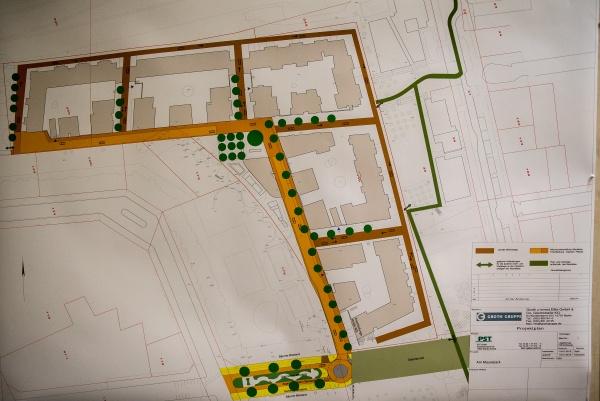"""""""Projektplan"""", statt Vorhaben- und Erschließungsplan-Vorlage -"""