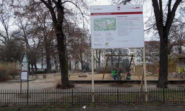 """Helmholtzplatz: Spielplatz wird """"qualifiziert"""""""