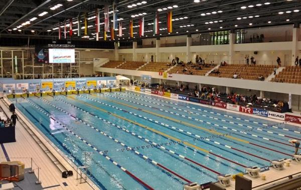 Schwimm- und Sprunghalle im Europasportpark (SSE)