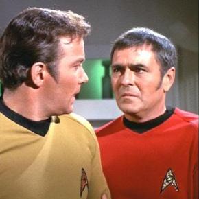 Captain Kirk und Scotty