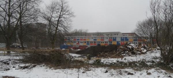 Flüchtlingsunterkunft an der Karower Chaussee