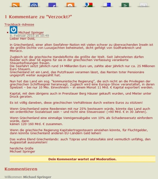 Kommentar www.gleimviertel.de