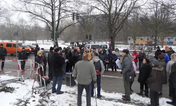 """Protest: """"Bürgera´nhörung"""" am 7.1.2015"""