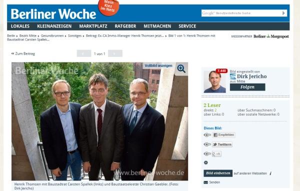 Screenshot: Berliner Woche vom 16.4.2014