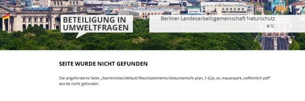 Umwelt Beteiligung - Screenshot