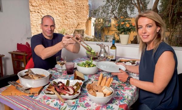 Yanis Varoufakis und Ehefrau Danae Stratou
