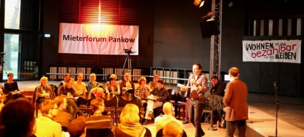 2. Mieterforum Pankow am 15.4.2015