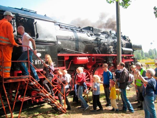 Frühlingsfest im Bahnbetriebswerk Schöneweide