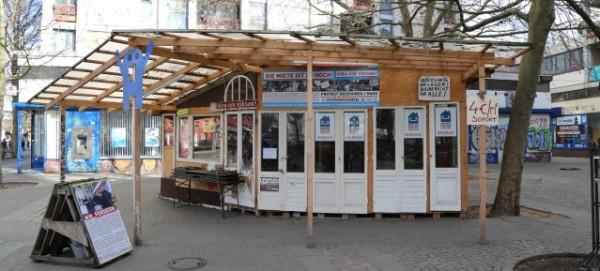 """Infopavillon der Mietergemeinschaft """"Kotti & Co"""""""