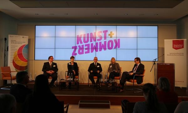 Kulturrat: Kunst & Kommerz - Tagung am 23.4.2015 in Berlin