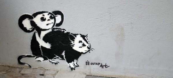 Streetart by OSTAP