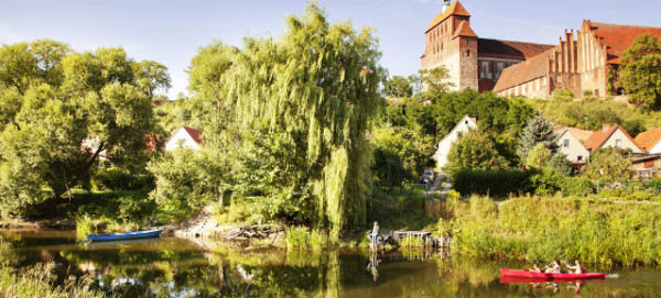 Blick auf die Altstadt der Hansestadt Havelberg