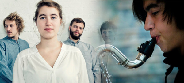 Lisbeth Quartett und Antonin-Tri Hoang - Pressefoto JAZZDOR 2015