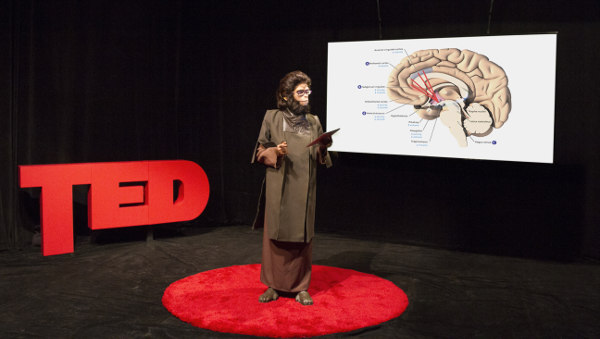 Coco Fusco, TED Ethology: Primate Visions of the Human Mind, 2015