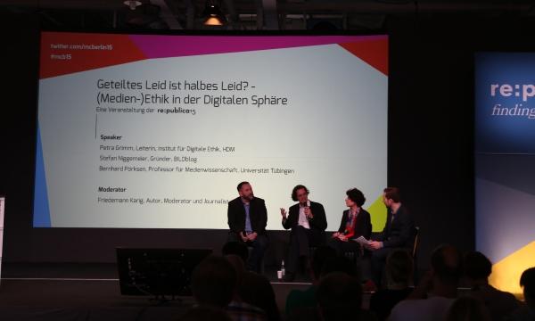 re: publica 2015 : Forum über Medien-Ethik