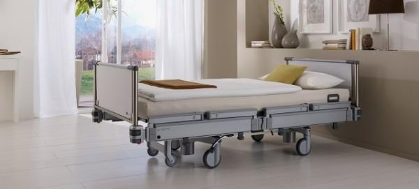 """Klinikbett """"Vertica"""" - das Mobilisierungsbett"""