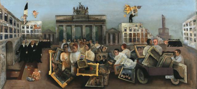 Felix Nussbaum: Der tolle Platz, 1931