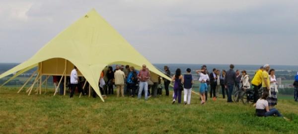 Gipfelfest auf dem Arkenberge
