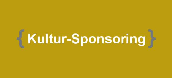 Kultur Sponsoring