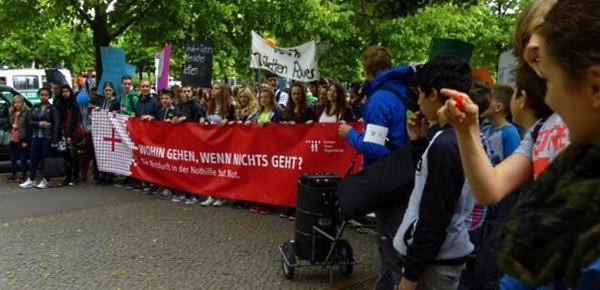 Weltflüchtlingstag: Schülerdemo am 19.6.2015