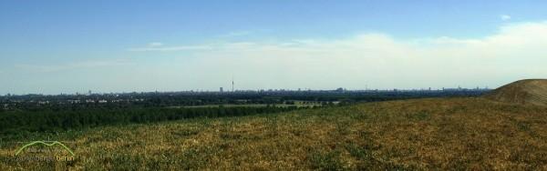 Skyline Berlin auf dem Arkenberge