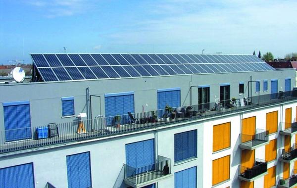Solarstrom-Anlage - Heinhaus Architekten Foto: Uwe Heinhaus