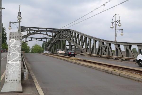 Bösebrücke vor der Sanierung