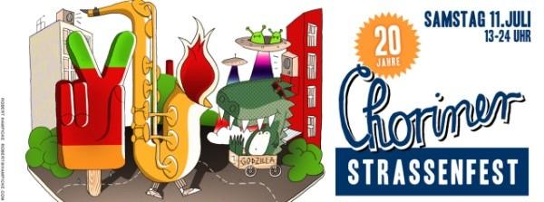 Choriner Straßenfest 2015