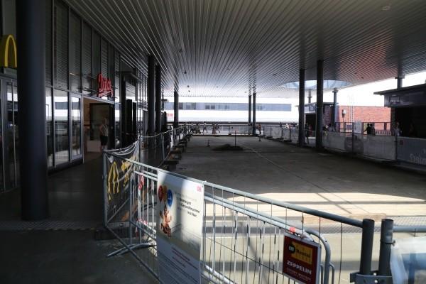 Empfangsgebäude Fern- und Regionalbahnhof Gesundbrunnen