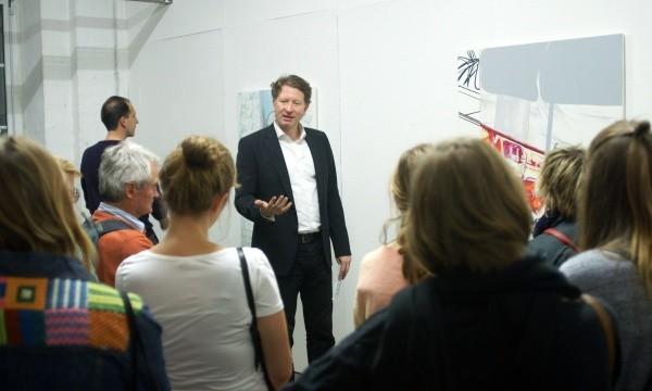 Atelierführung mit Kristian Jarmuschek