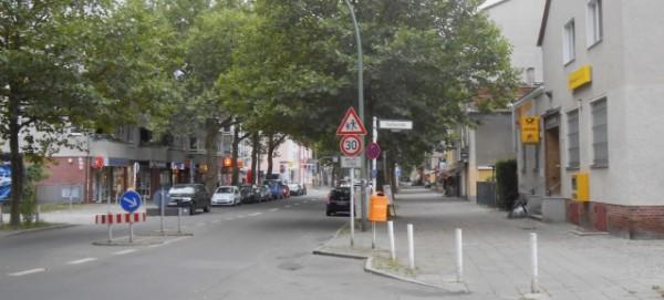 Hauptstraße in Wilhelmsruh
