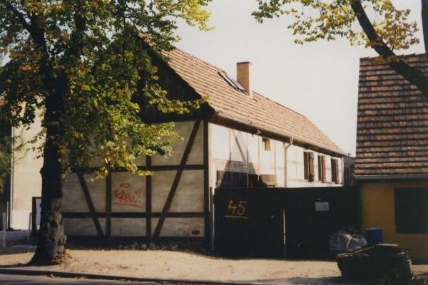 Kossätenhof in der Hauptstraße 45 - 1997