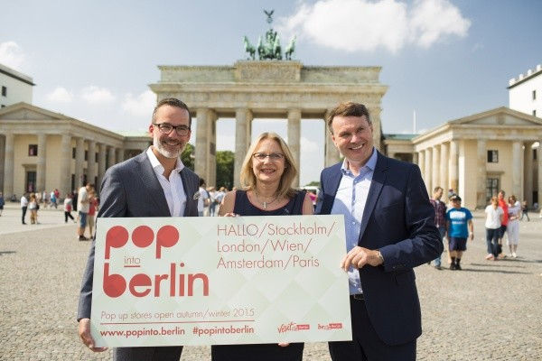 pop into berlin - Präsentation