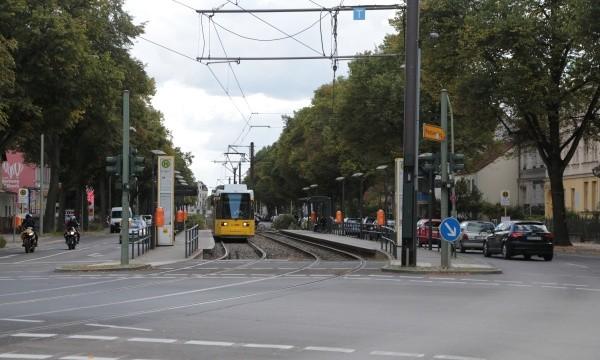 Tram-Linie 50 in Französisch Buchholz