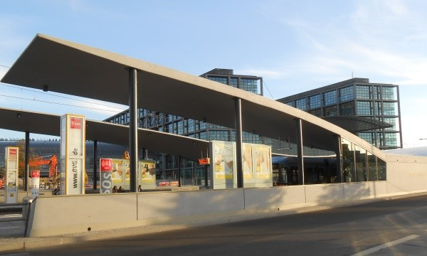 Tramhaltestelle Hauptbahnhof