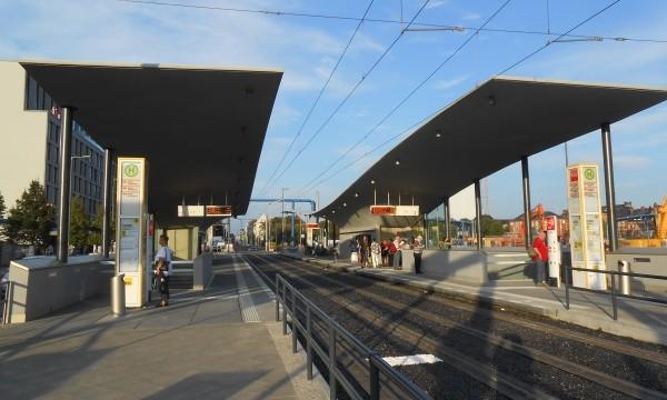 Tram + U - Haltestelle Hauptbahnhof
