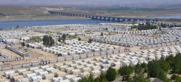 Flüchtlingslager des UN World Food Programm (WFP) in Nizip, Türkei - Foto: WFP Sabine Starke
