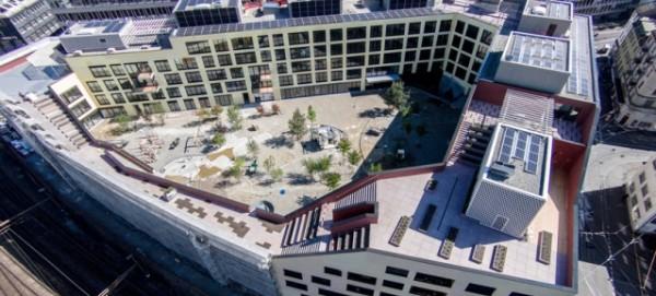 Blockrandbau der Genossenschaft Kalkbreite in Zürich