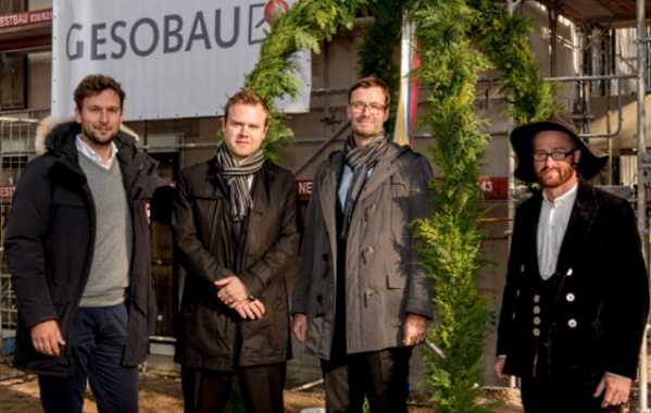 Gesobau: Richtfest in der Thulestraße