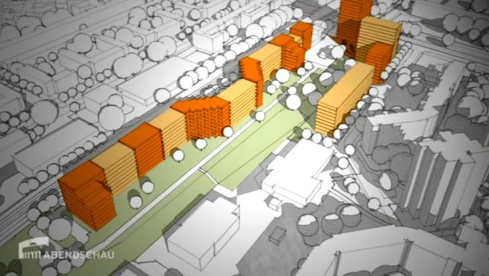 600 neue Wohnungen am Thälmannpark