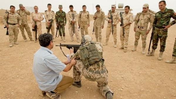 Bundeswehr Ausbildung in Erbil